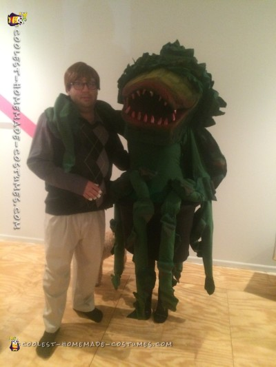 Little Shop of Horrors Seymour and Audrey II Couple Costume