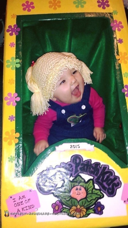 Live Cabbage Patch Baby Doll Costume - 3