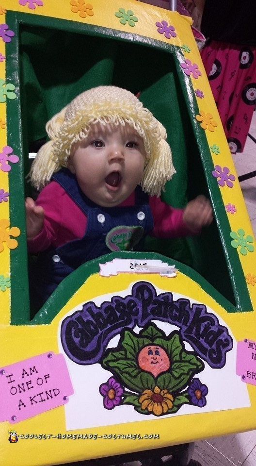 Live Cabbage Patch Baby Doll Costume