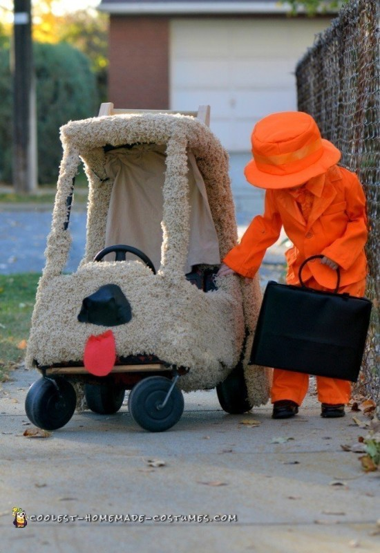Lloyd and His Mutt Cutts Van