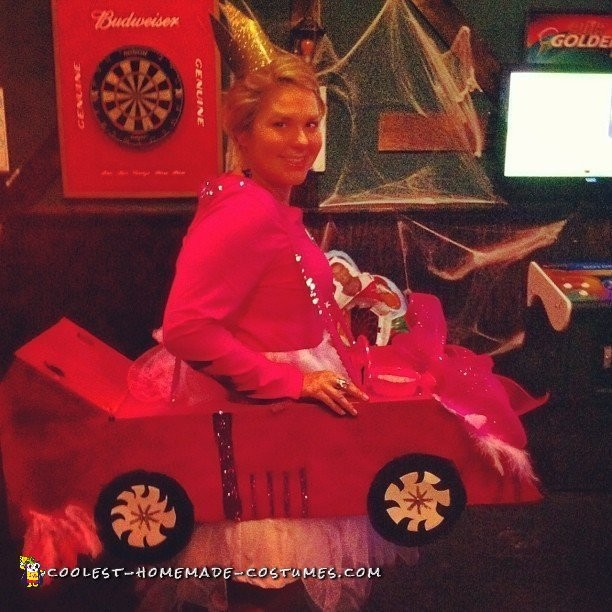 Mario Cart and Princess Peach Couple Costume - 4