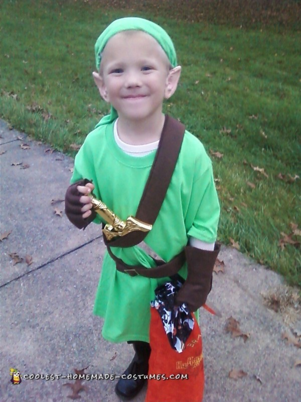 Mini Link from Zelda DIY Costume