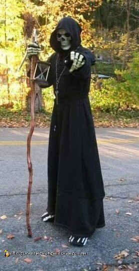 Mr. Death has selected You Grim Reaper Costume