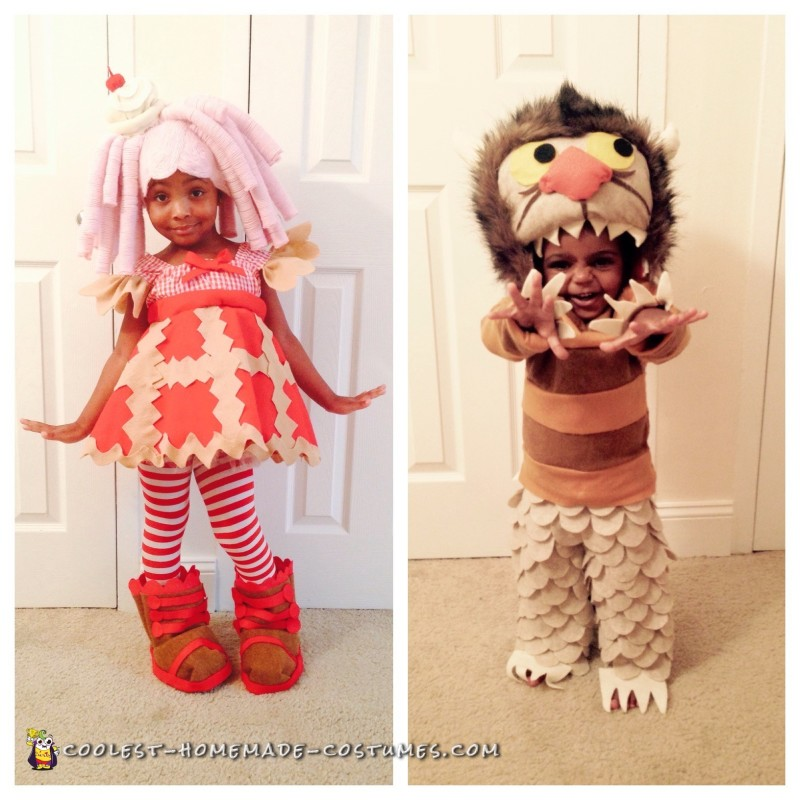 Last year's Lala Loopsy Doll & Where the Wild Things Are monster
