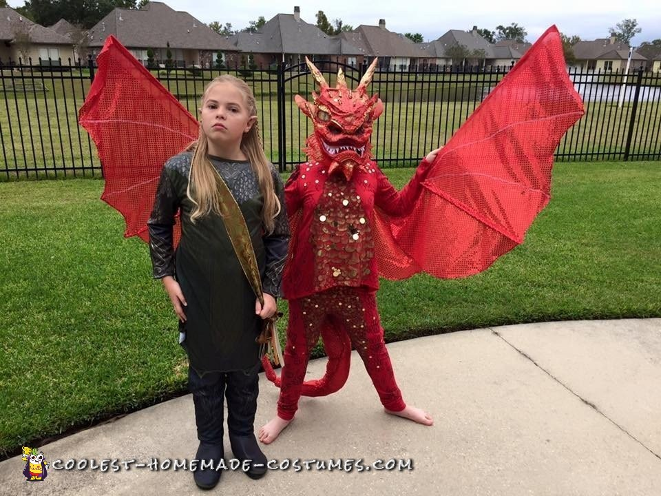 Smaug and Legolas Couple Costume from the Hobbit