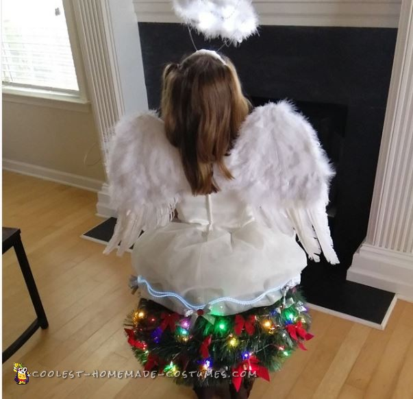 My Little Christmas Tree Angel Costume - 1