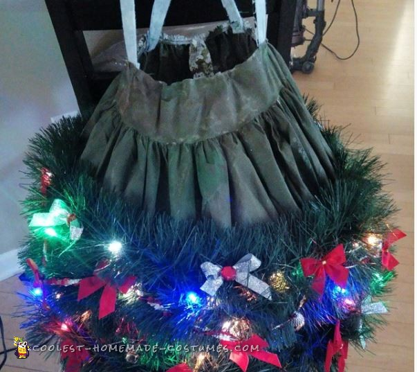 My Little Christmas Tree Angel Costume - 3