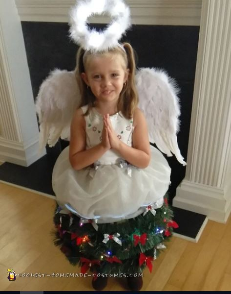 My Little Christmas Tree Angel Costume