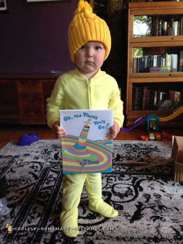 Oh, the Places You'll Go! Dr. Seuss Costume - 1