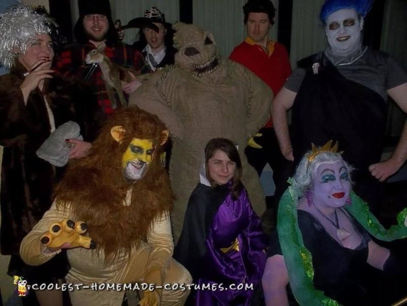 Cool Nightmare Before Christmas Costume: Oogie Boogie - 3