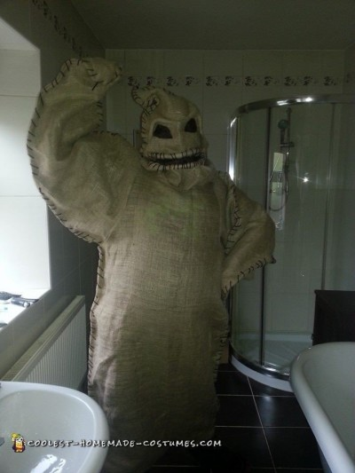 Cool Nightmare Before Christmas Costume: Oogie Boogie