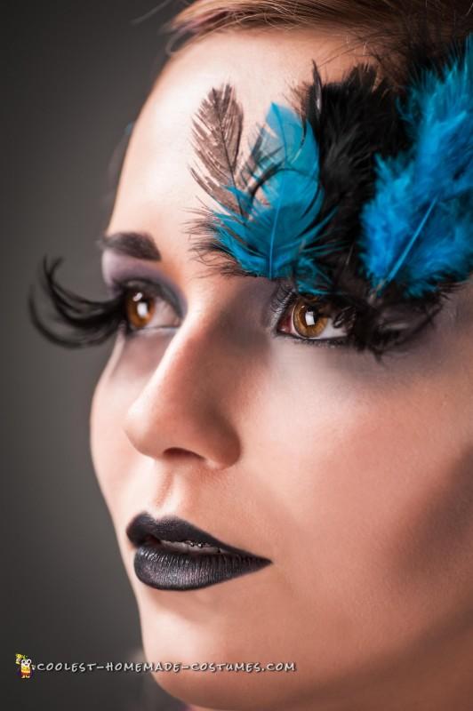 Elegant Peacock Costume - 1