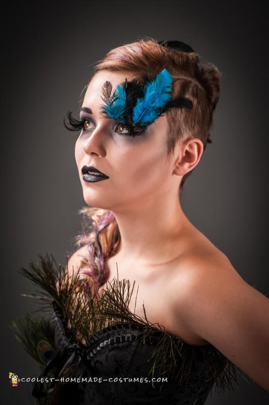 Elegant Peacock Costume