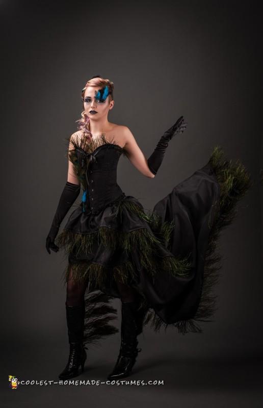 Elegant Peacock Costume - 3