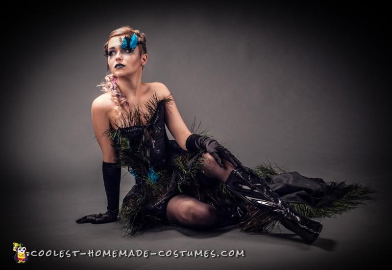 Elegant Peacock Costume - 4