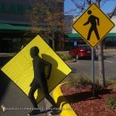 Pedestrian X-ing Morph Suit Costume