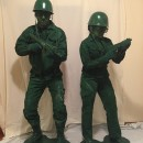 Plastic Army Man Costumes