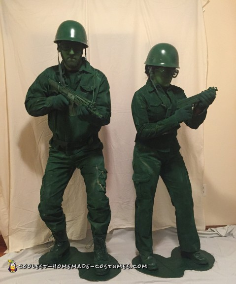 Plastic Army Man Costumes