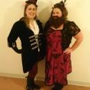 Plus Size Bearded Lady Circus Sideshow Costume