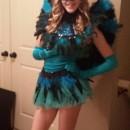 Pretty Peacock Costume for Teenage Girl
