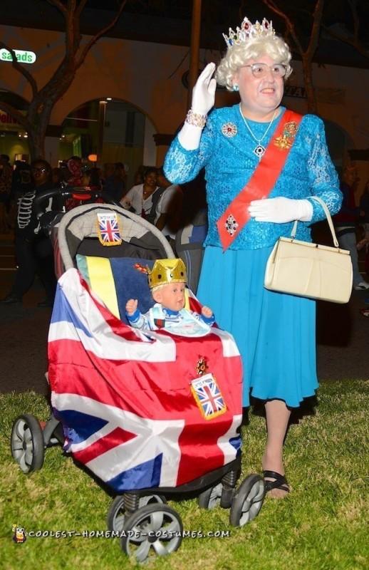 Funny Queen Elizabeth Costume