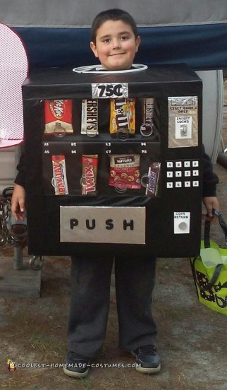 Realistic Vending Machine Costume