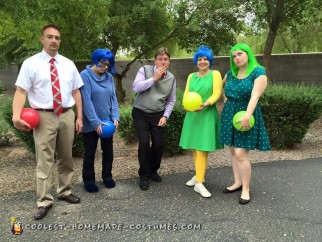 Inside Out Group Costume