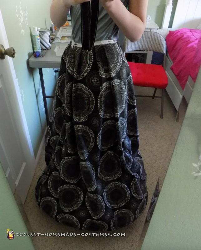 Skirt before painting