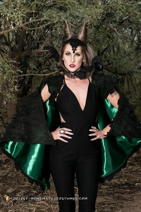Magnificent and Malicious Maleficent Costume