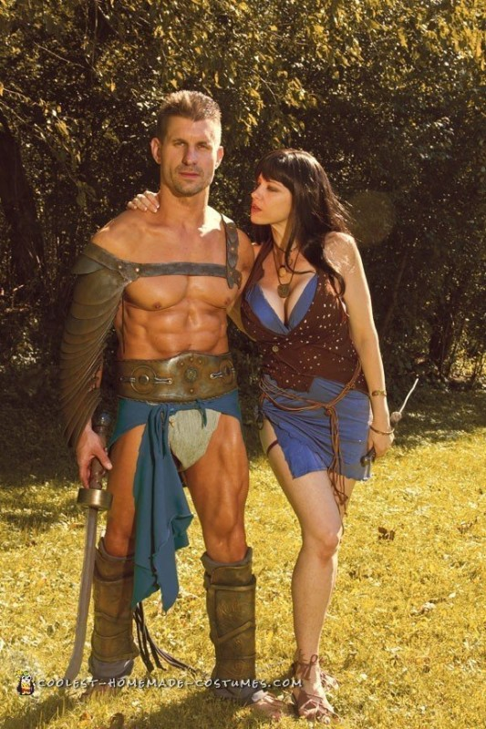 Spartacus and Sura Couple Costume