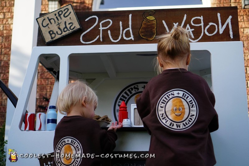 Coolest Spud Wagon Fry Truck Costume - 2