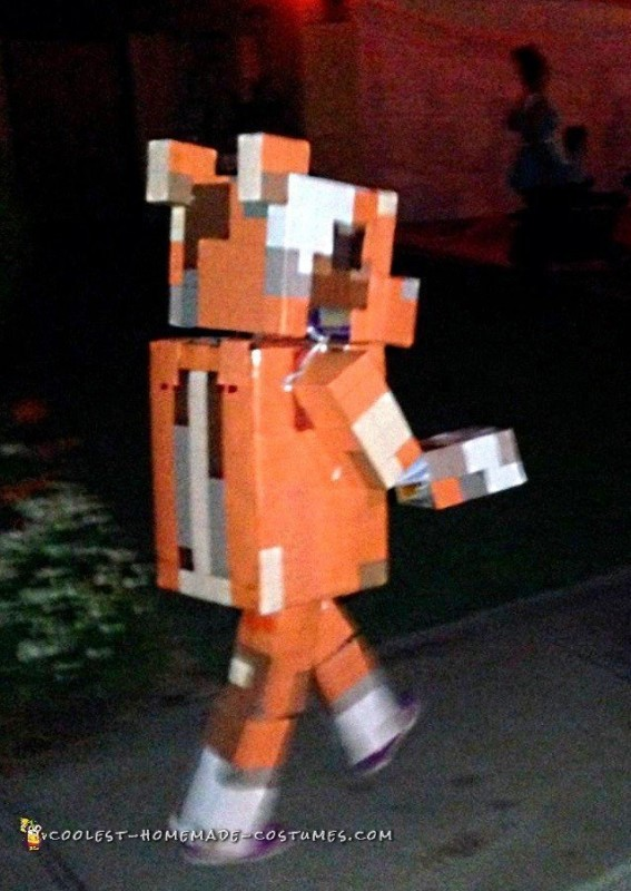 Stampy on the move
