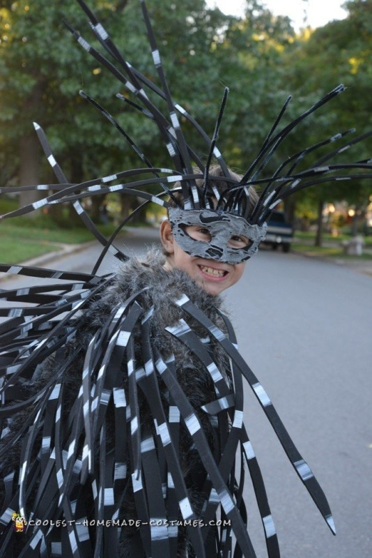 Fierce Porcupine Costume for a Boy
