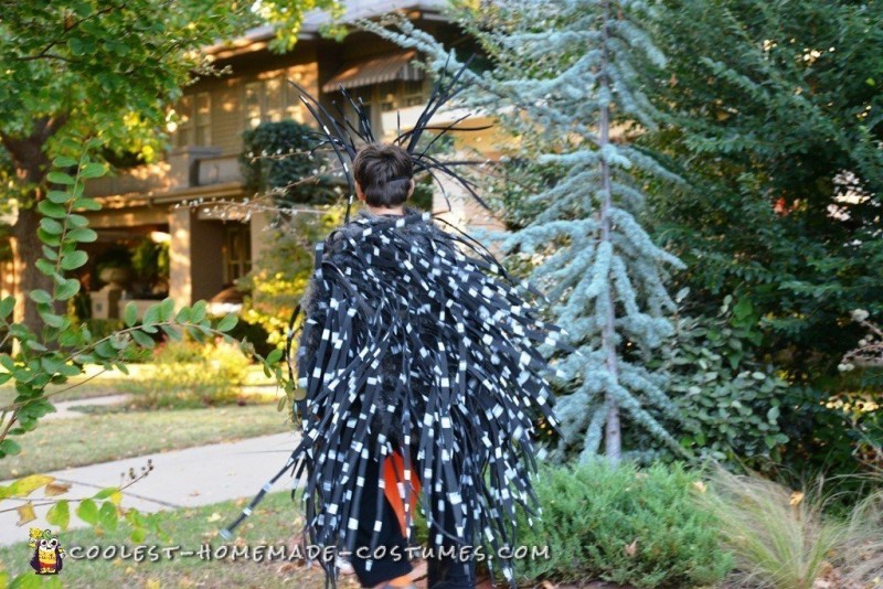 Fierce Porcupine Costume for a Boy