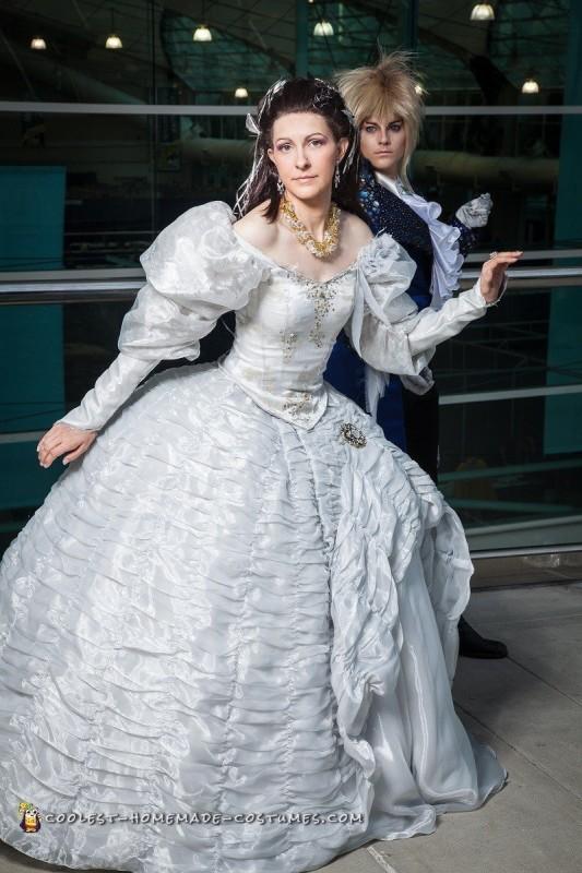 Handmade Labyrinth Costume: Sarah and Jareth Labyrinth Movie Sarah Dress