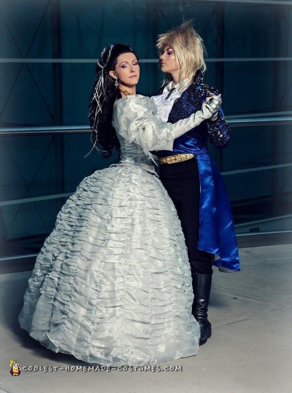 Handmade Labyrinth Costume: Sarah and Jareth