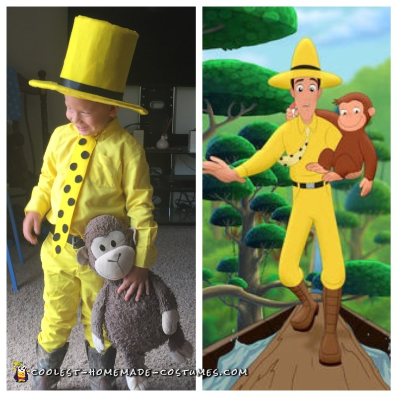 Man in the Yellow Hat Toddler Costume - 1
