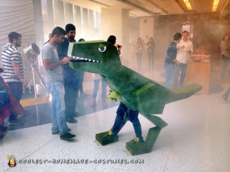 Rare Lizasaurus Rex Costume