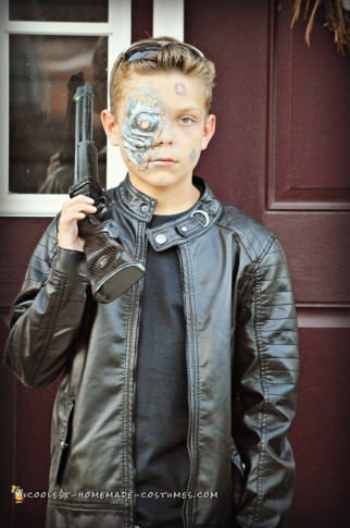 Terminator Costume for Tween Boy