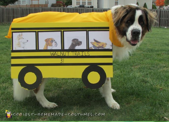 Therapy Dog School Bus Costume - 1