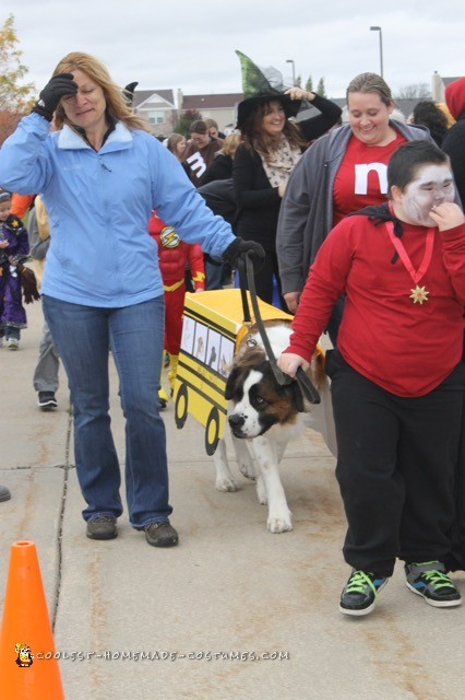 Therapy Dog School Bus Costume - 2