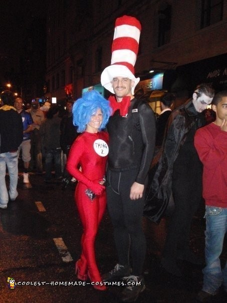 Thing One Thing Two Couple Costume - 3