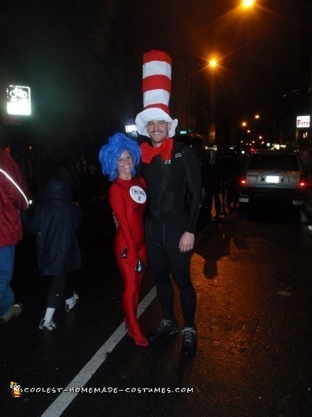 Thing One Thing Two Couple Costume - 4