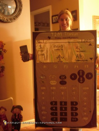 TI-89 Titanium Calculator Costume