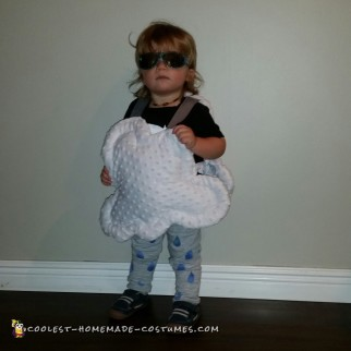 Toddler Rain Cloud Costume