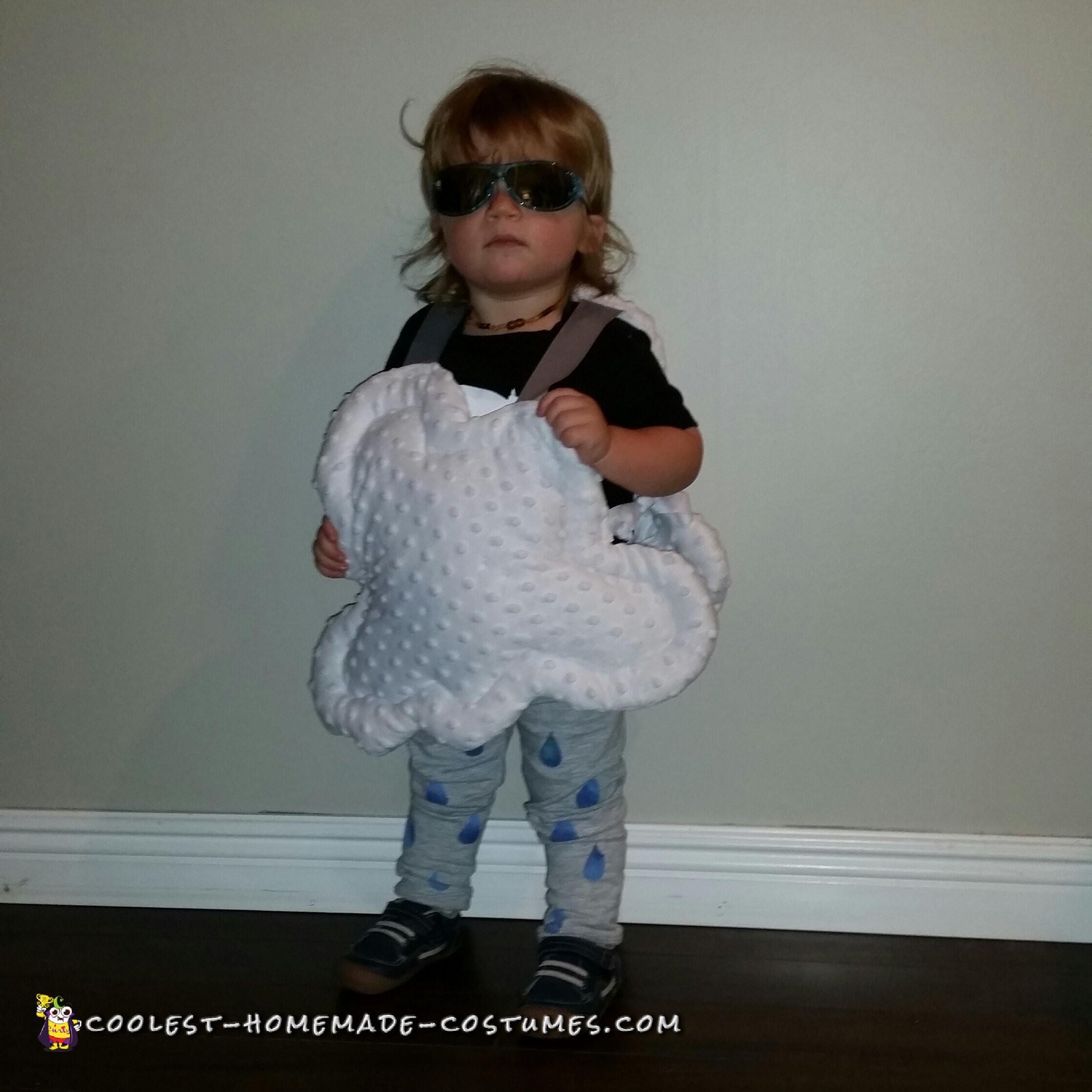Toddler Rain Cloud Costume