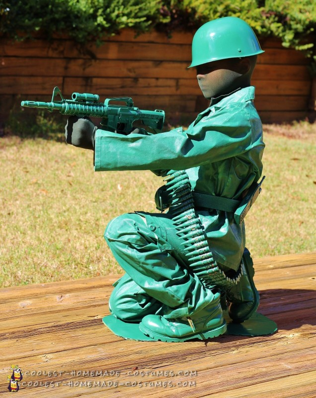 Toy Army Man Costume for a Boy