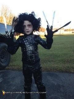 Cute Edward Sisscorhands Costume
