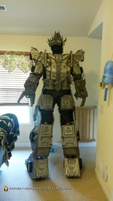 Transformers Megatron Costume