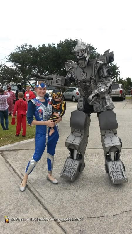 Transformers Megatron Costume - 3